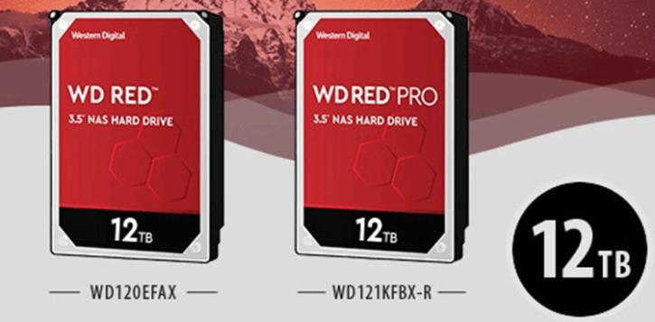 Western Digital Red 12 To