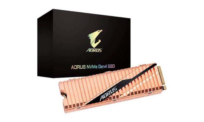 Gigabyte Aorus NVMe PCIe 4.0