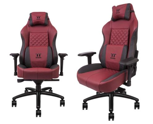 Thermaltake X-COMFORT Burgundy Red Real Leather