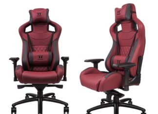 Thermaltake X-FIT Burgundy Red Real Leather