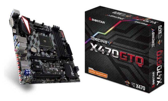 Biostar X470 GTQ