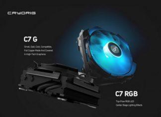 Cryorig C7G & C7 RGB