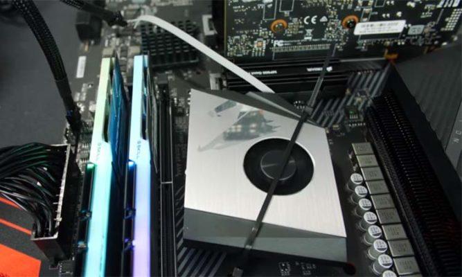 Ryzen 9 3900X chipset heatsink
