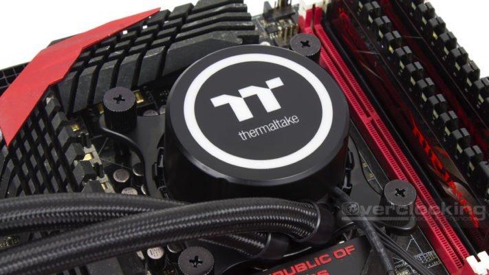 Thermaltake Floe DX360 Installation Intel