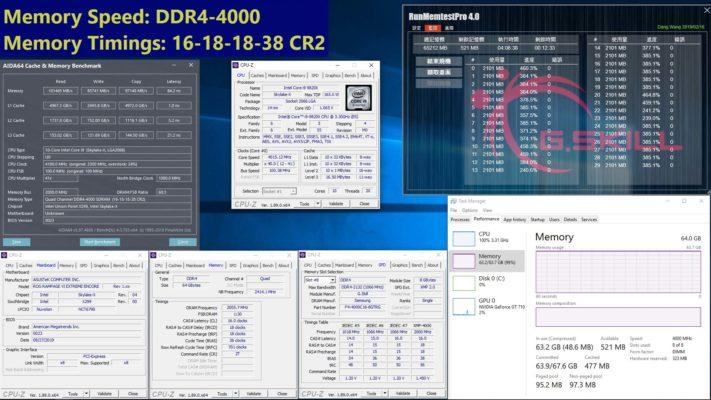 G.Skill Triden Z Royal 64 Go 4300 MHz