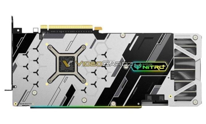 Sapphire RX 5700 XT Nitro backplate