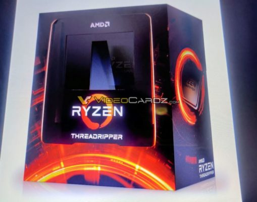 AMD Threadripper 3000 packaging