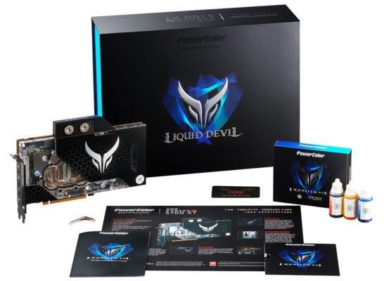 Powercolor RX 5700 XT Liquid Devil bundle