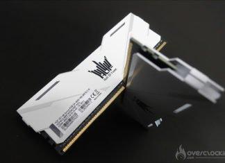 Le kit KFA2 HOF Aurora DDR4 4000 MHZ CL19
