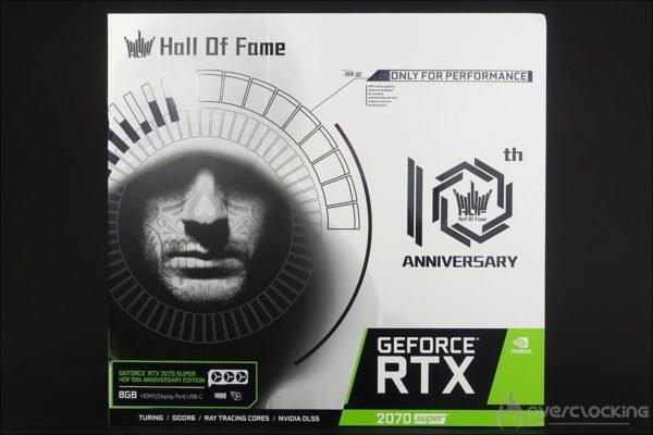 KFA2 HOF RTX 2070 Super Anniversary