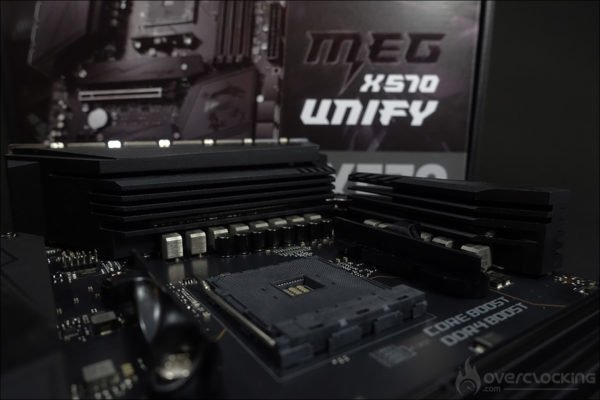 Le socket de la MSI MEG X570 Unify