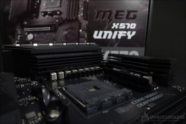 Le socket de la MSI MEG X570 Unify
