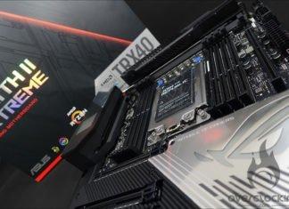 L'Asus ROG Zenith II Extreme dans le labo