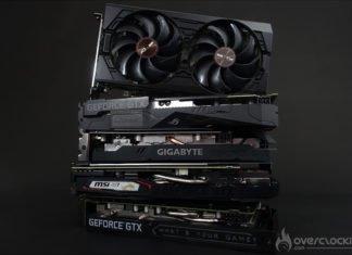 Le panel des GPU pour le 1080P