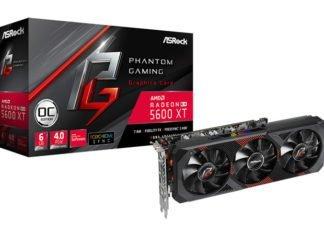 ASRock RX 5600 XT Phantom Gaming D3