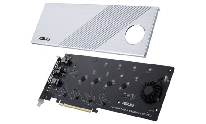 Asus Hyper M.2 PCIe Gen 4