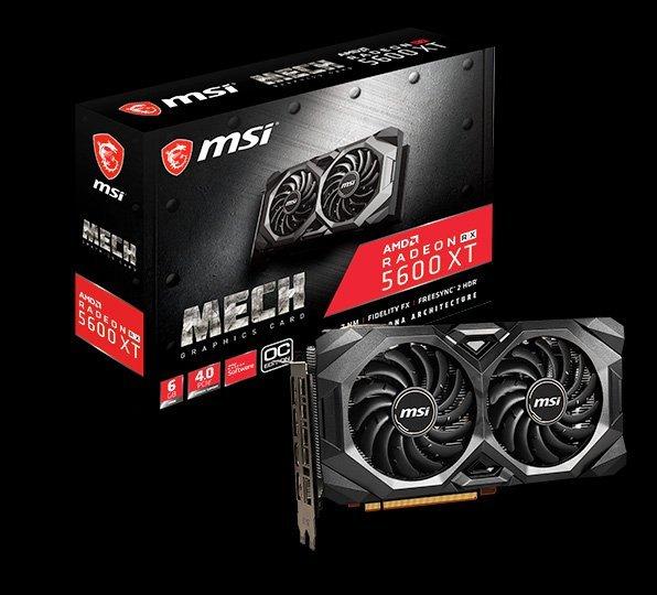 La MSI RX 5600 XT Mech
