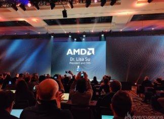 La conférence de presse AMD au CES 2020