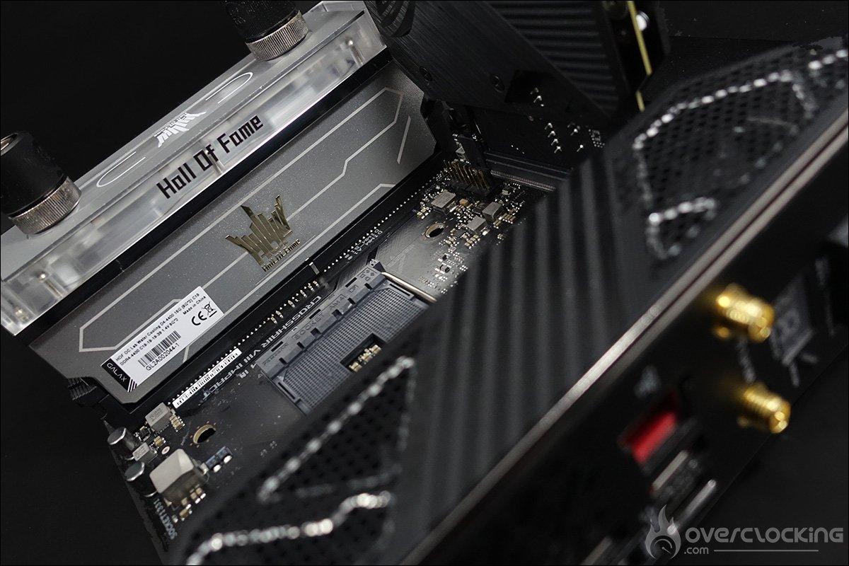 Kit ram DDR4 GALAX HOF OC Lab Water Cooling 4400 MHz