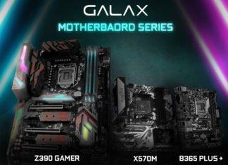 Les cartes mères Galax