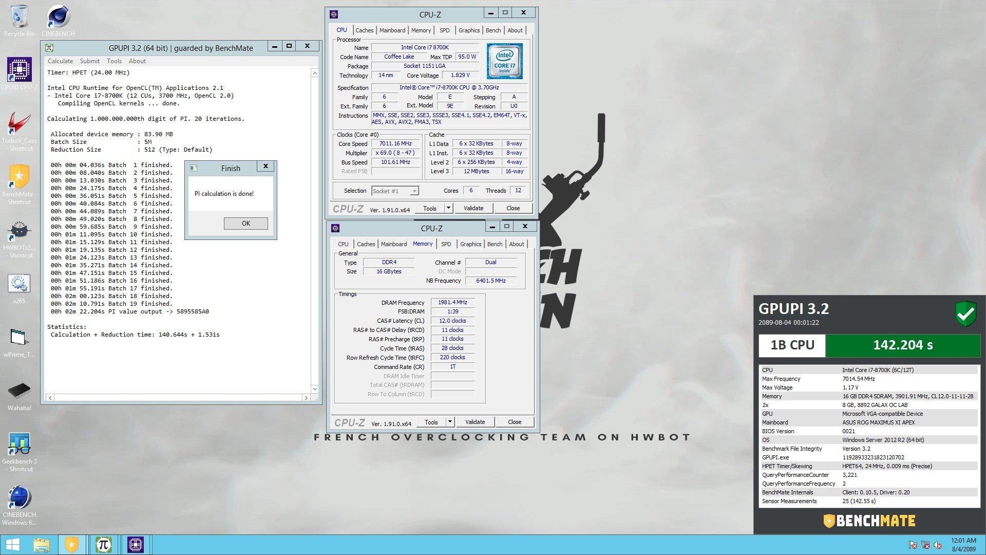 GPUPI CPU sous LN2 RaDi Ty