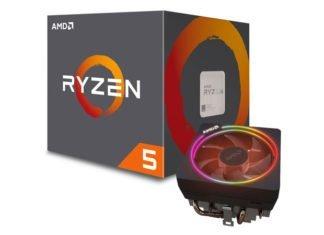 AMD Ryzen 5 1600 + Wraith Prism