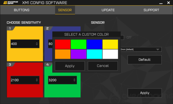 EndGame Gear logiciel