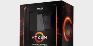 boite de AMD threadripper
