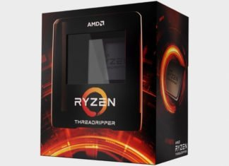 boite de AMD threadripper