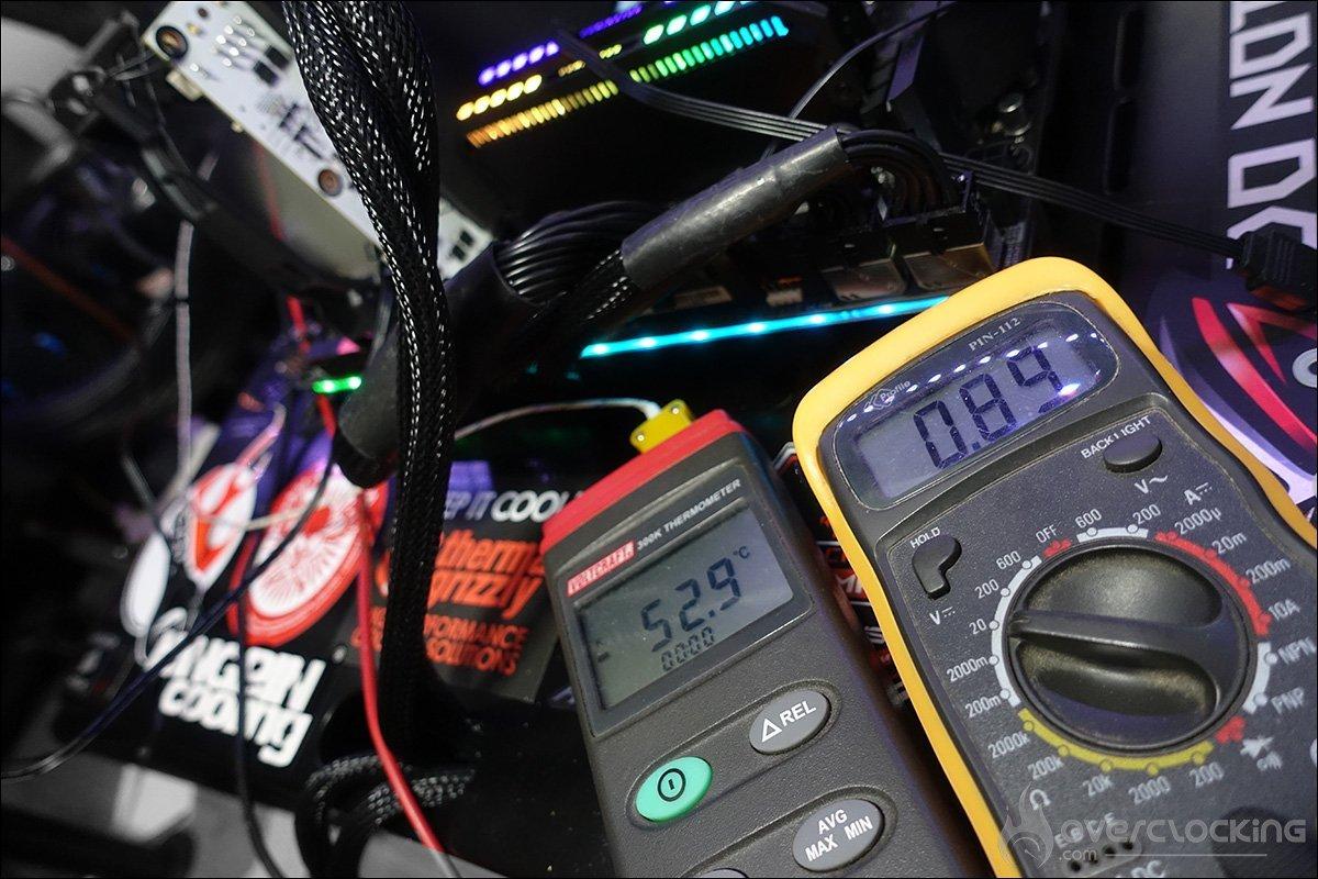 La Galax GTX 970 HOF sous froid