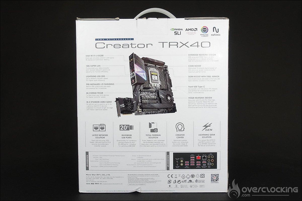La MSI Creator RTX40