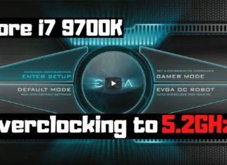 Tuto vidéo de l'overclocking du 9700K