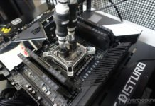 Configuration de tests Asus Rampage VI Extreme Encore