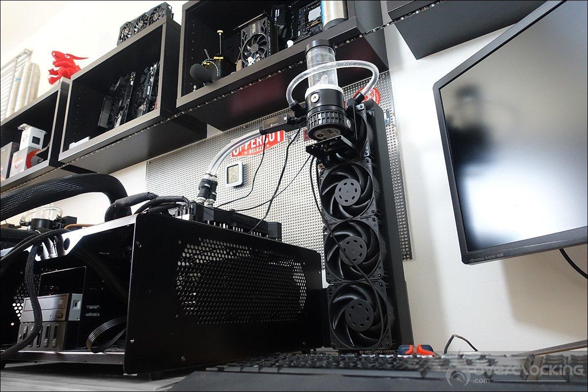 Configuration de tests Asus Rampage VI Extreme Encore