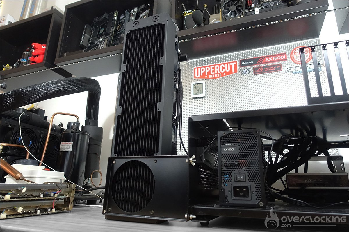 Installation du radiateur CoolStream XE 480