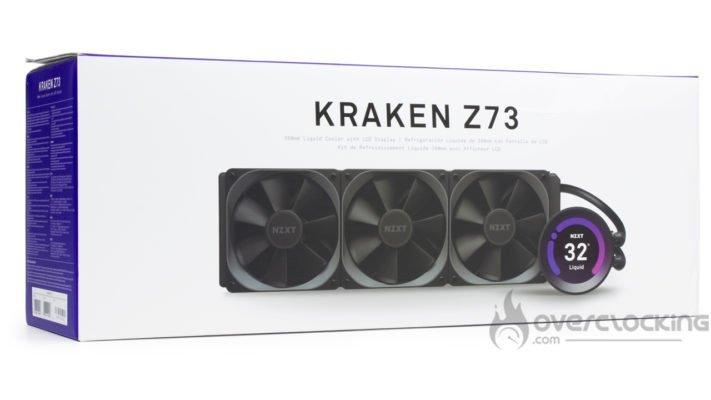 NZXT Kraken Z73 Boîte