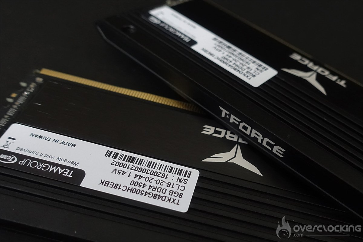 Le kit mémoire T-Force Xtreem 4500MHz CL18 de Teamgroup