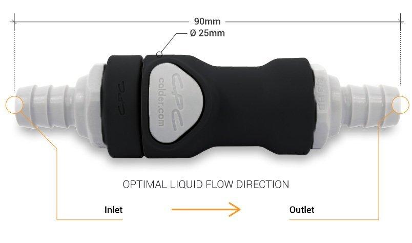 Connection rapide pour boucle de refroidissement liquide