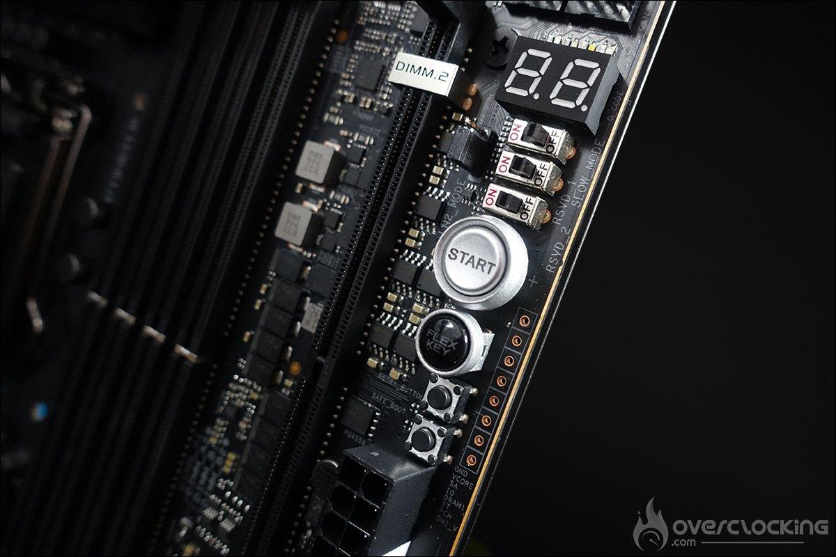 Les outils du PCB Asus ROG Maximus XII Extreme Z490