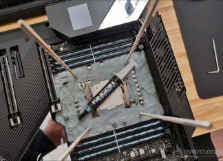 Tests sous LN2 10980XE et Asus Rampage VI Extreme Encore