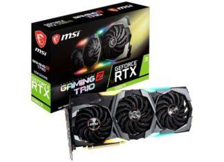 MSI RTX 2080 Ti Gaming Z Trio 16 Gbps