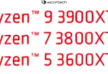 Ryzen 3900XT, 3800XT et 3600XT