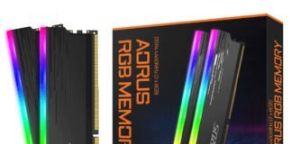 Aorus DDR4 4400 MHz CL19
