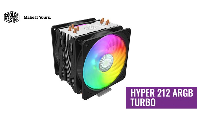 Cooler Master Hyper 212 ARGB Turbo
