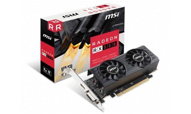 MSI RX 5500 LP OC