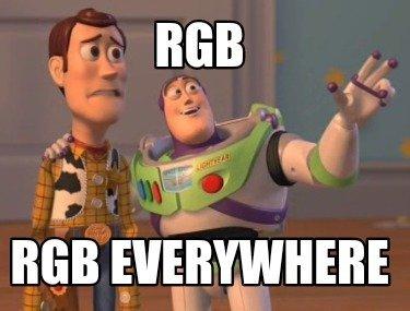 RGB Everywhere