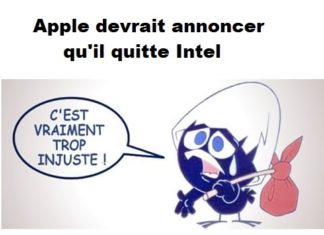 Apple abandonne Intel