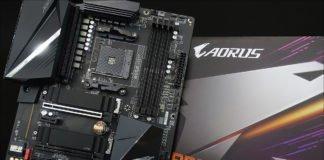 La carte mère Aorus B550 Pro