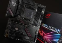 La carte mère Asus ROG Strix B550-E Gaming