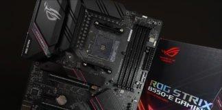 La carte mère Asus ROG Strix B550-E Gaming